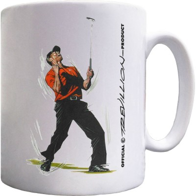 Tiger Woods Masters Celebration Ceramic Mug