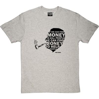 """Tony Benn """"Money"""" Quote"""