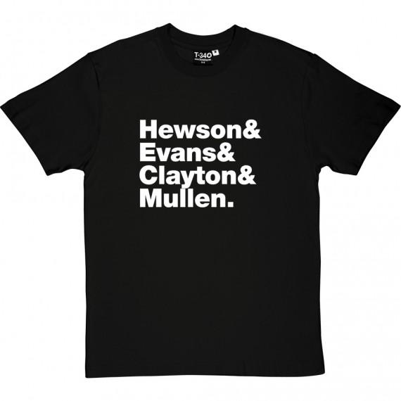 U2 Line-Up T-Shirt