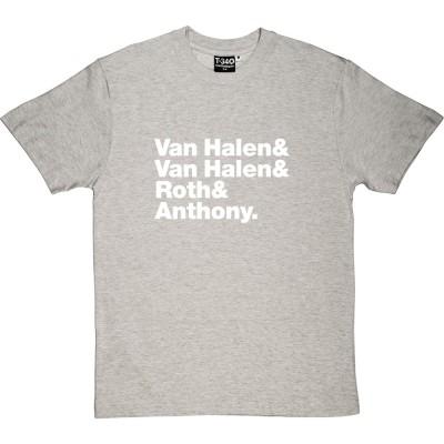 Van Halen Line-Up