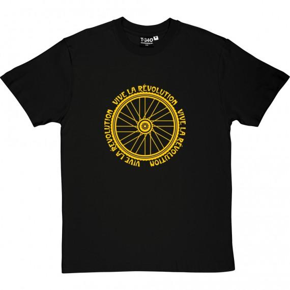 Vive le Revolution (Bicycle) T-Shirt