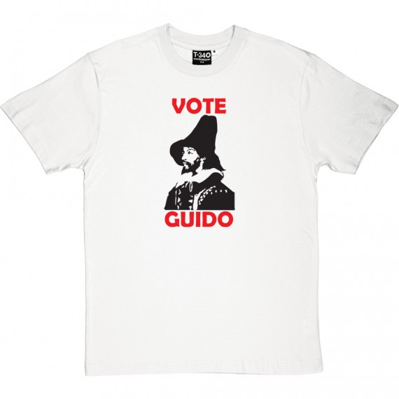 "Guy Fawkes ""Vote Guido"" T-Shirt"