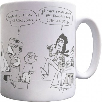 Watch Out For Sparks Mug