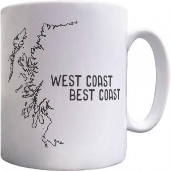 West Coast Best Coast Ceramic Mug