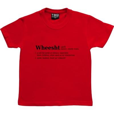 Wheesht Definition