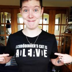 Schrodinger's Cat Is Alive/Dead T-Shirt