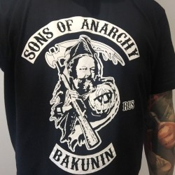 Sons of Anarchy: Mikael Bakunin T-Shirt