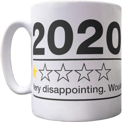 2020: One Star Review Ceramic Mug