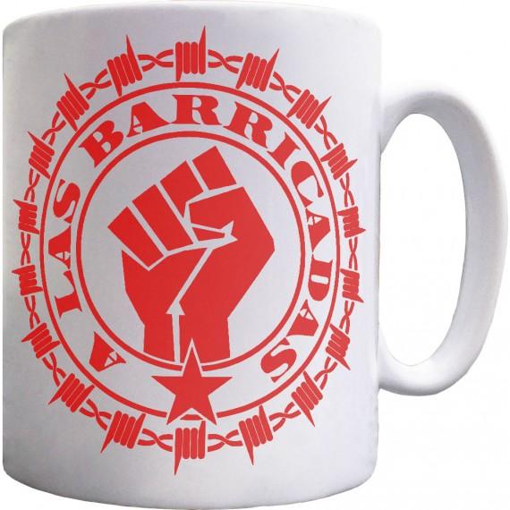 A Las Barricadas Ceramic Mug