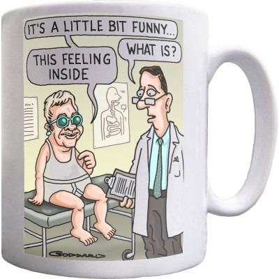 It's A Little Bit Funny Ceramic Mug