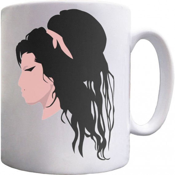 Amy Winehouse Portrait Ceramic Mug