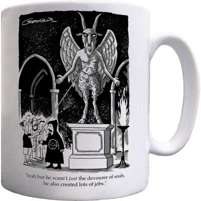 Baphomet Statue Ceramic Mug