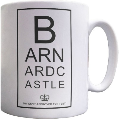 Barnard Castle Eye Test Ceramic Mug
