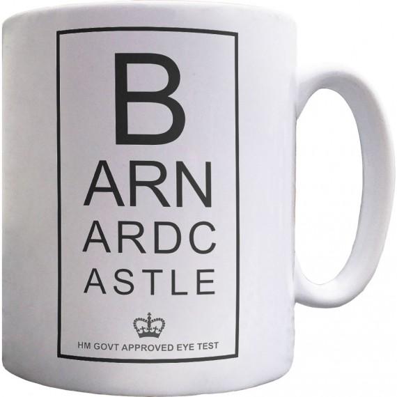 Barnard Castle Eye Test Ceramic Mug