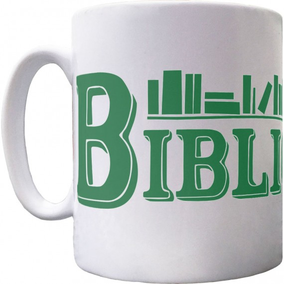 Bibliophile Ceramic Mug