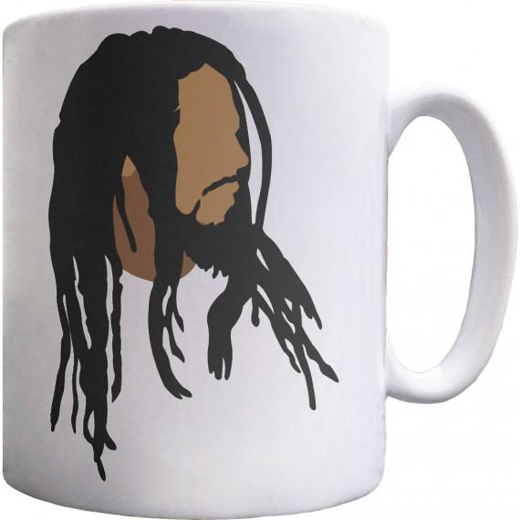 Bob Marley Portrait Ceramic Mug