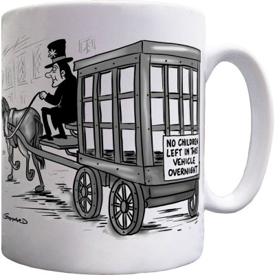 No Children Left In This Vehicle Overnight Ceramic Mug