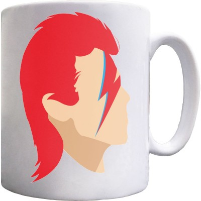 David Bowie Portrait Ceramic Mug