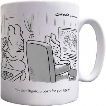 Fusilli and Rigatoni Ceramic Mug
