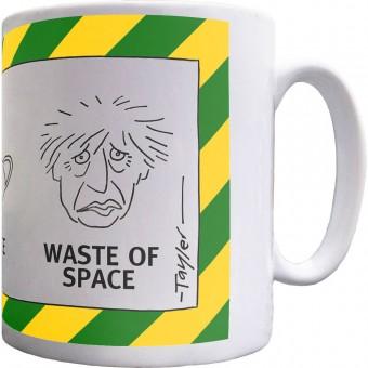 Hands; Face; Waste Of Space Mug