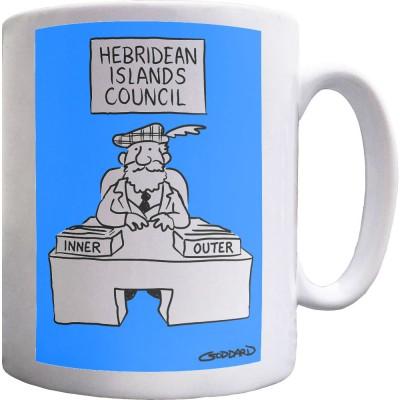 Hebridean Islands Council Ceramic Mug