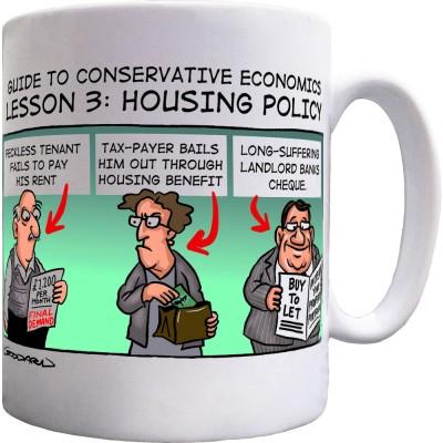 Guide To Conservative Economics: Housing Policy Ceramic Mug
