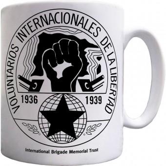 International Brigade Memorial Trust: Roundel Ceramic Mug