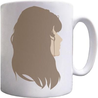 Janis Joplin Portrait Ceramic Mug