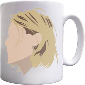 Kurt Cobain Portrait Ceramic Mug