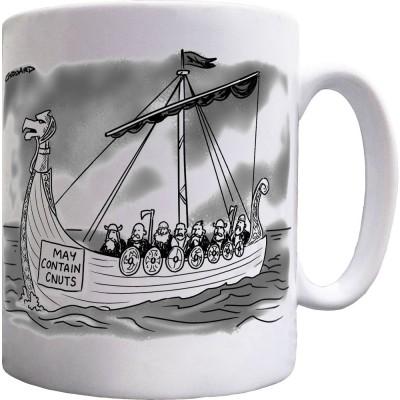 May Contain Cnuts Ceramic Mug