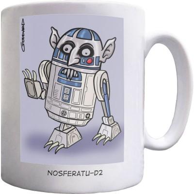 Nosferatu-D2 Ceramic Mug