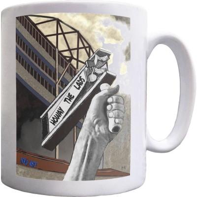 Howay The Lads by Hadrian Richards Ceramic Mug