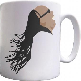Stevie Wonder Portrait Ceramic Mug