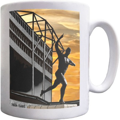 Sunset At St James' by Hadrian Richards Ceramic Mug