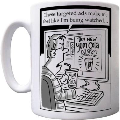 Targeted Ads Ceramic Mug
