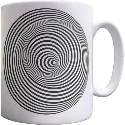 Psychedelic Circles Ceramic Mug
