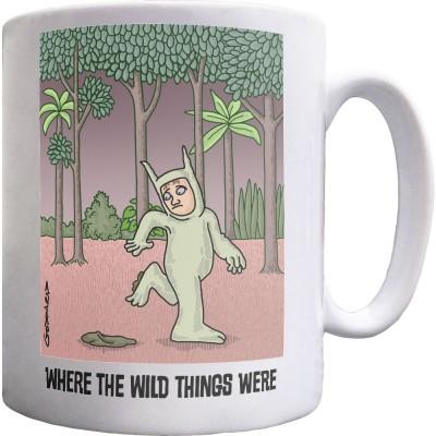 Where The Wild Things Were Ceramic Mug