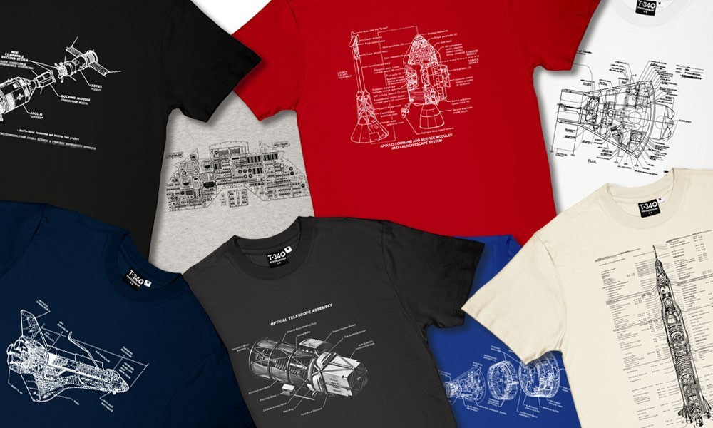Godspeed John Glenn: New Space T-Shirts