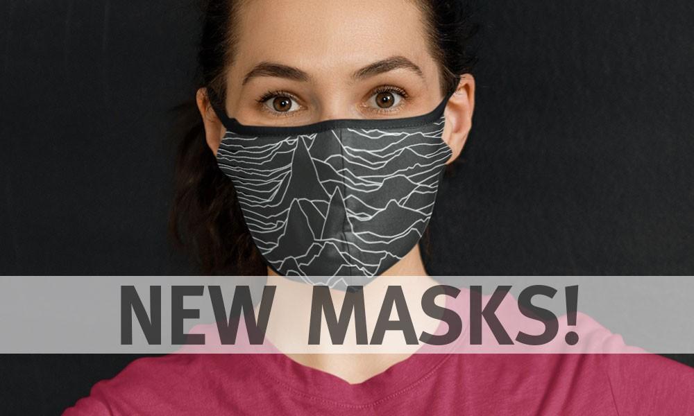 New Masks! New Mugs!