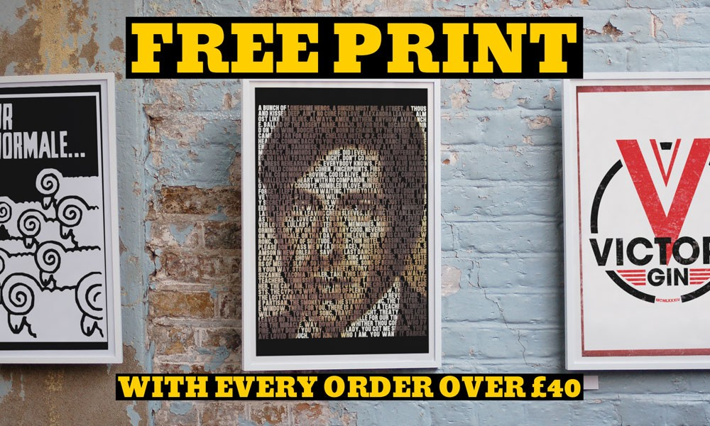 Sept Deals Part III: Spend £40 & Get A FREE Print or Snood!