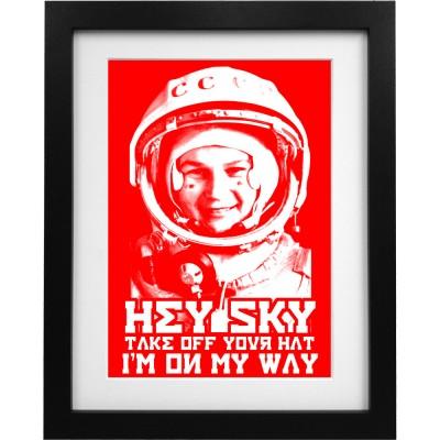 Valentina Tereshkova Art Print