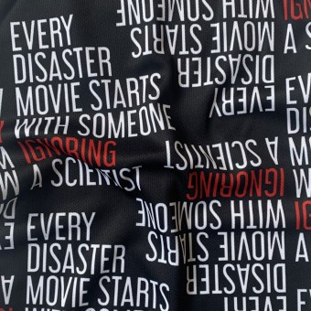 Every Disaster Movie Starts With Someone Ignoring A Scientist Snood