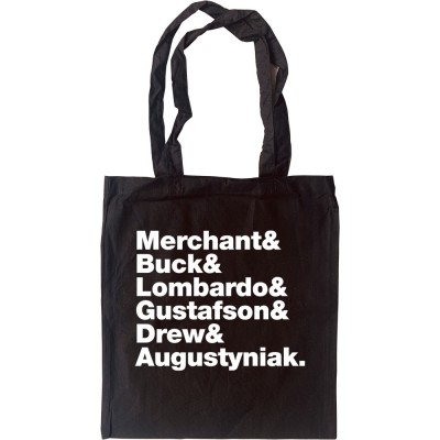 10,000 Maniacs Line-Up Tote Bag