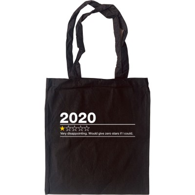 2020: One Star Review Tote Bag