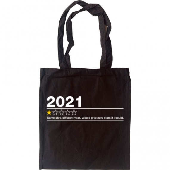 2021: One Star Review (Censored) Tote Bag