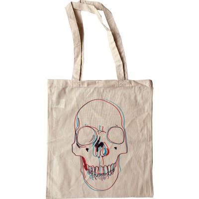3-D Skull Tote Bag