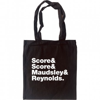 A Flock of Seagulls Line-Up Tote Bag