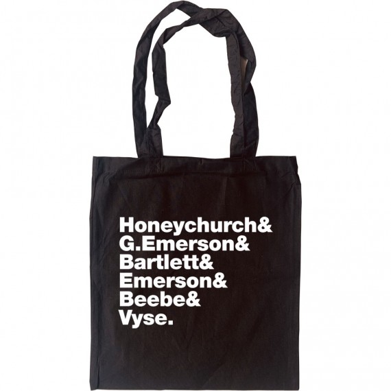 A Room With A View Line-Up Tote Bag