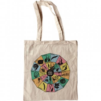 A-Z of Natural History (Colour) Tote Bag