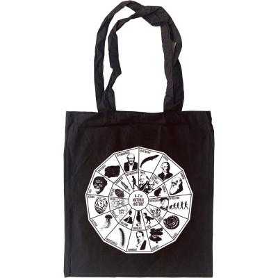 A-Z of Natural History Tote Bag